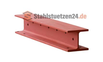 Stahlträger - Veranschaulichung Bohrungen